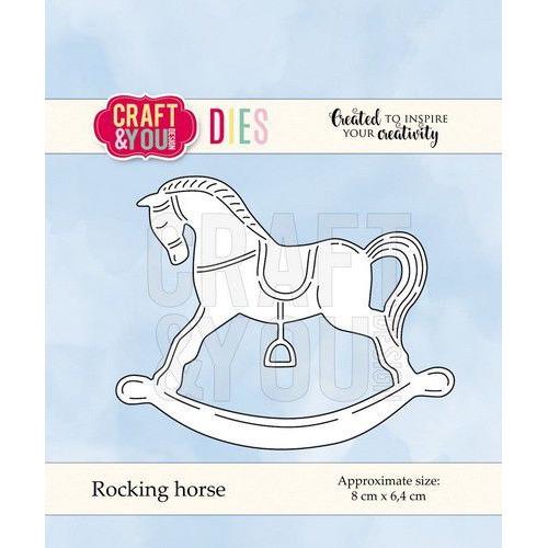 Craft&You Cutting Die Hobbelpaard CW064