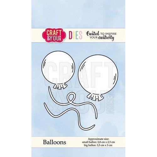 Craft&You Cutting Die Ballonnen CW067