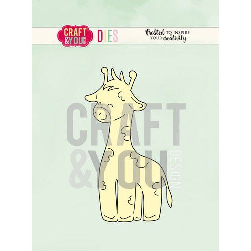 Craft&You Cutting Die Giraffe CW086
