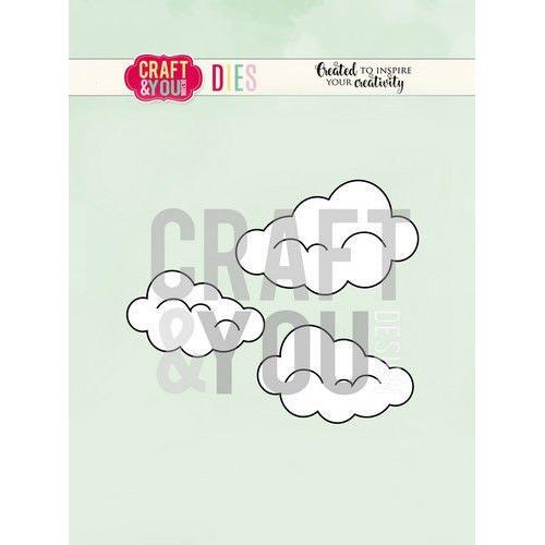 Craft&You Cutting Die Wolken CW087