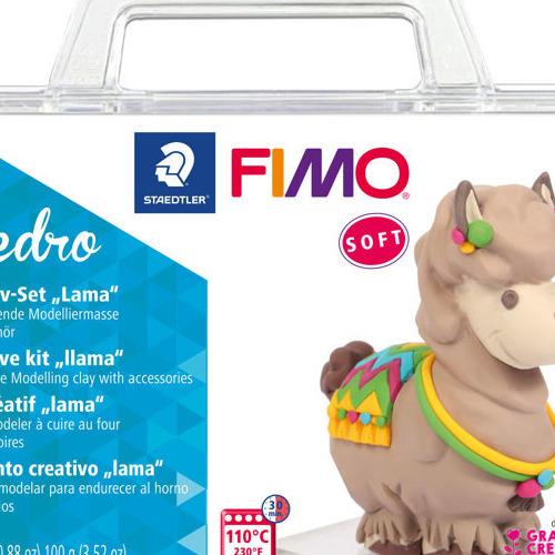 Fimo soft creatieve set lama Pedro