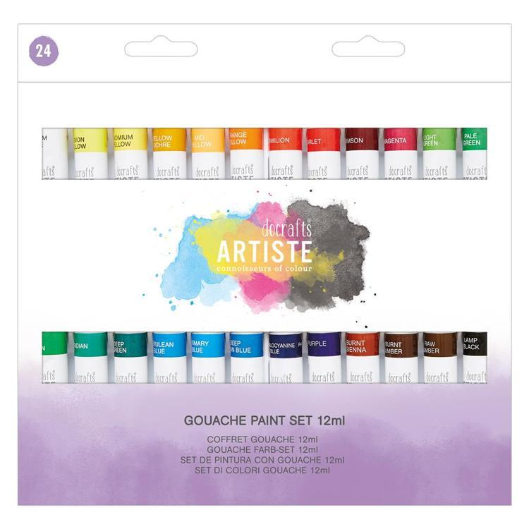 Gouache Paint Set (24pk) - 12ml