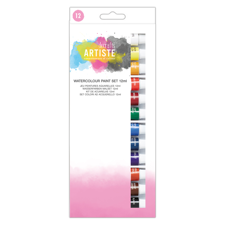 Watercolour Paint Set 12ml (12pk)