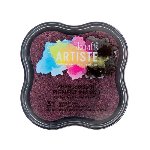 Pigment Ink Pad - Pearlescent Dusky Rose