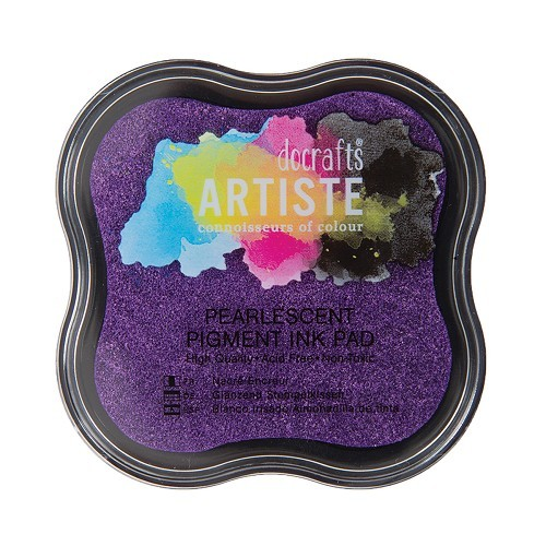 Pigment Ink Pad - Pearlescent Violet