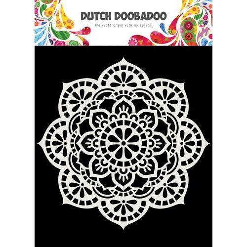 Dutch Doobadoo Dutch Mask Art 15x15cm Mandala 470.715.619 (04-20)