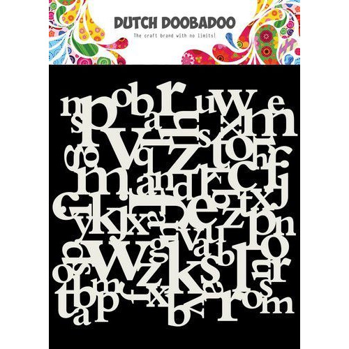 Dutch Doobadoo Dutch Mask Art 15x15cm Letters 470.715.620 (04-20)