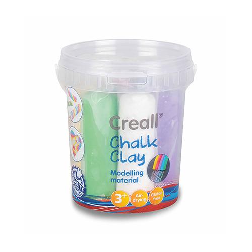 Creall-chalk clay