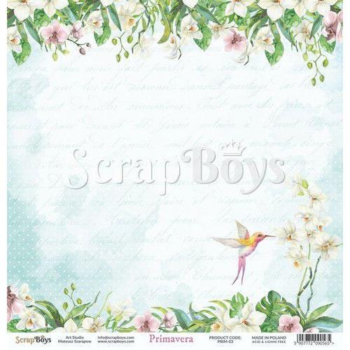 ScrapBoys Primavera paper sheet DZ PRIM-03 190gr 30,5cmx30,5cm (04-20)