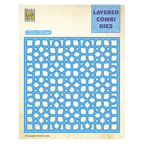 LCDF001A Layered Combi Dies FlowersLayer A