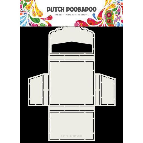 Dutch Doobadoo Dutch Shape Art Merci scallop  163 x 220mm 470.713.062 (04-20)