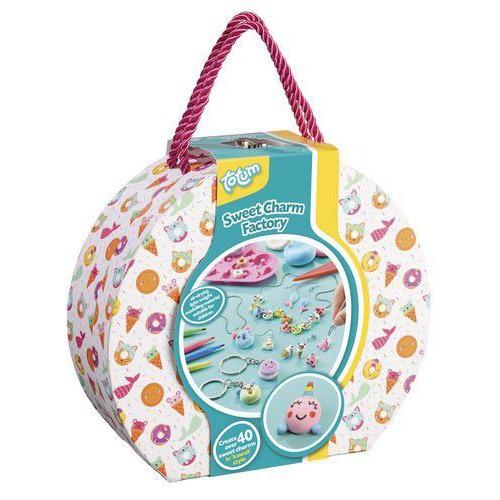 Totum kinder hobbyset Sweet Charm Factory 026049 Suitcase (04-20)