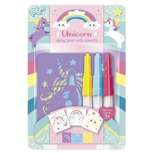 Totum kinder hobbyset Unicorn Spray Pens 071018 Blister (06-20)