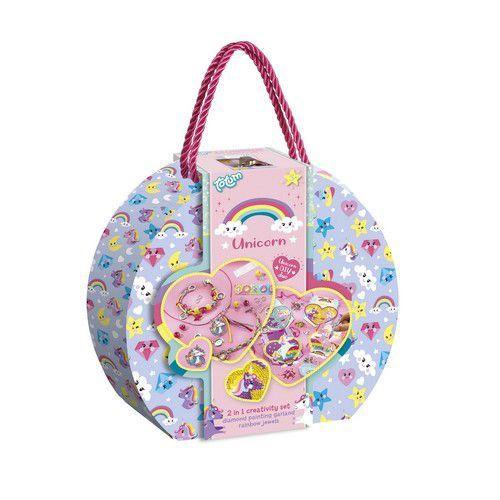 Totum kinder hobbyset Unicorn 2in1 suitcase 071506 A3,5 (04-20)