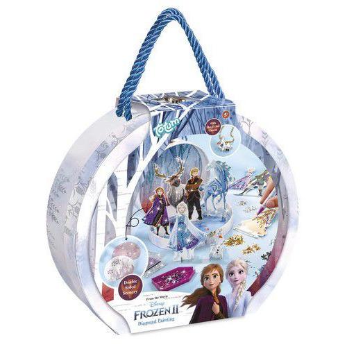Totum kinder hobbyset Disney Frozen2 diamond painting studio 681224 A4 (04-20)