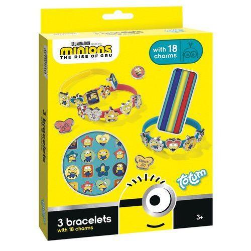 Totum kinder hobbyset Minions bracelets and charms 710108 15x18x2,5cm (05-20)