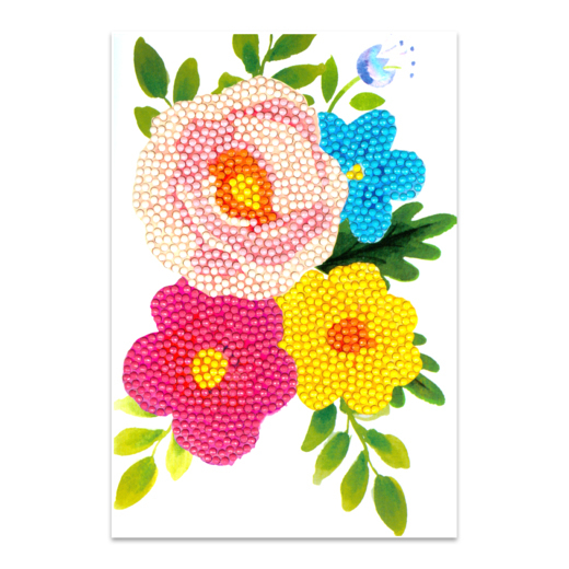 Craft Artist Diamond Art Card Kits - Flower