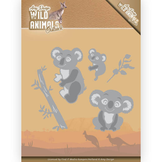 Dies - Amy Design - Wild Animals Outback - Koala