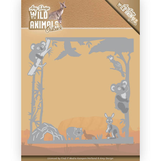 Dies - Amy Design - Wild Animals Outback - Koala Frame