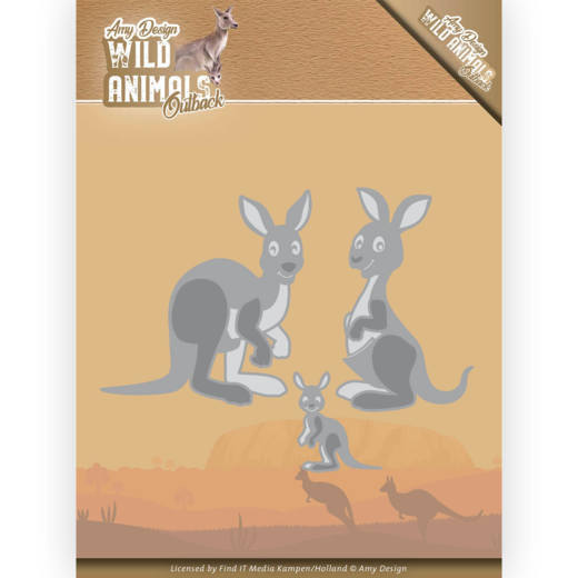 Dies - Amy Design - Wild Animals Outback - Kangaroo