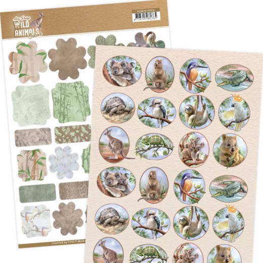 Mini's - Amy Design - Wild Animals Outback