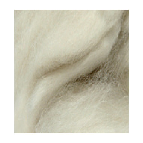 German merino wool extra thin, White