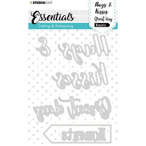 Studio Light Embossing Die Cut Essentials nr.282 STENCILSL282 (05-20)