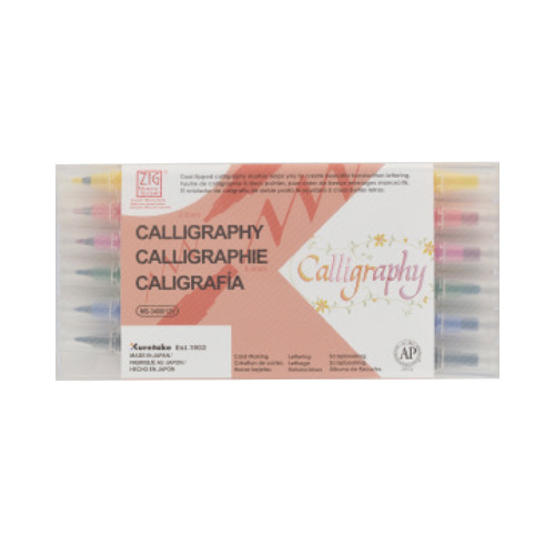 ZIg Calligraphy - 12 color set