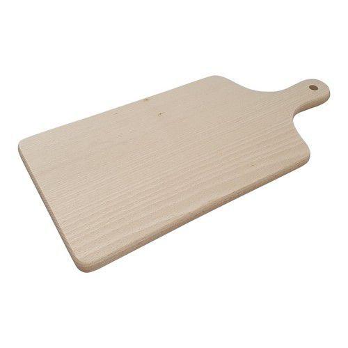 Houten Snijplank beuken met handvat 39,5cmx18,5cmx1,5cm
