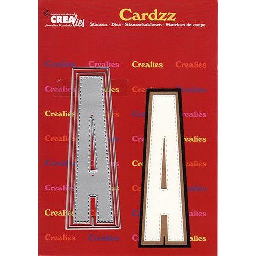 Crealies Cardzz letters letter A CLCZ401 max. 13 cm (05-20)