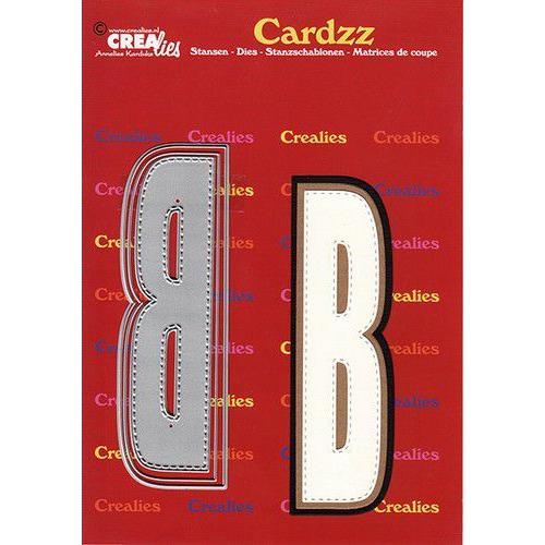 Crealies Cardzz letters letter B CLCZ402 max. 13 cm (05-20)