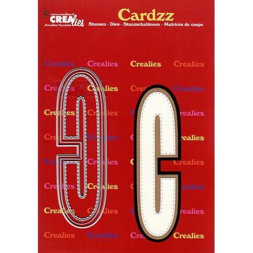 Crealies Cardzz letters letter C CLCZ403 max. 13 cm (05-20)