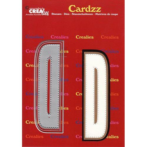 Crealies Cardzz letters letter D CLCZ404 max. 13 cm (05-20)