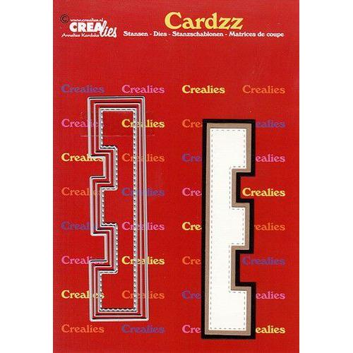 Crealies Cardzz letters letter E CLCZ405 max. 13 cm (05-20)