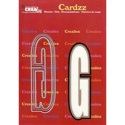 Crealies Cardzz letters letter G CLCZ407 max. 13 cm (05-20)