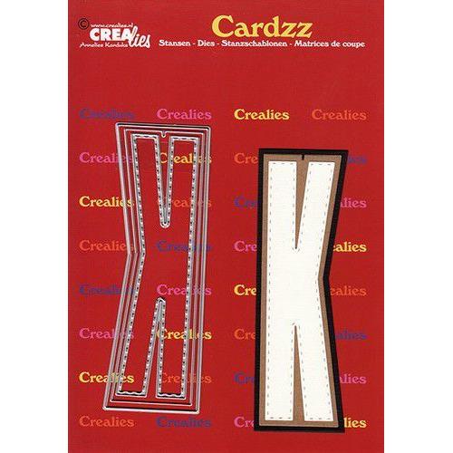 Crealies Cardzz letters letter K CLCZ411 max. 13 cm (05-20)