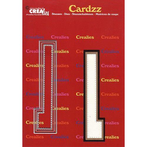 Crealies Cardzz letters letter L CLCZ412 max. 13 cm (05-20)