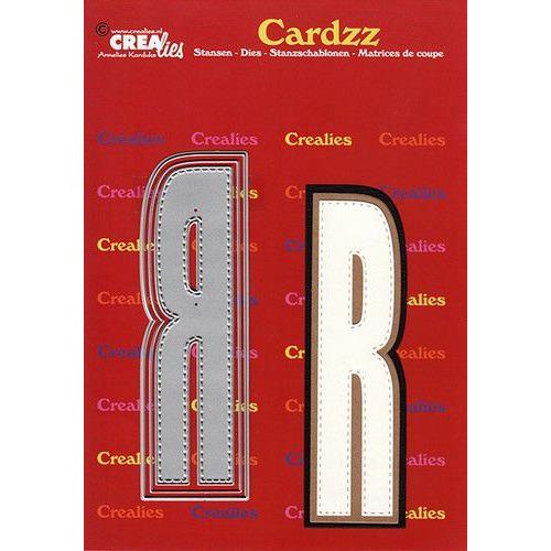 Crealies Cardzz letters letter R CLCZ418 max. 13 cm (05-20)