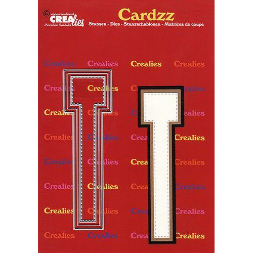Crealies Cardzz letters letter T CLCZ420 max. 13 cm (05-20)