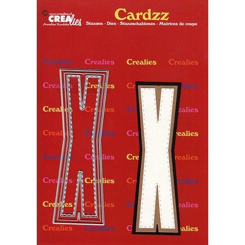 Crealies Cardzz letters letter X CLCZ424 max. 13 cm (05-20)