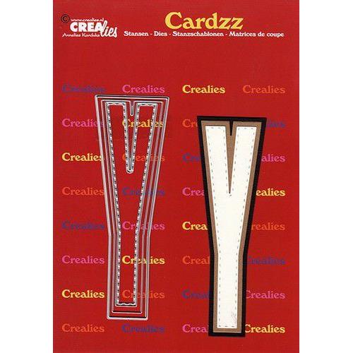 Crealies Cardzz letters letter Y CLCZ425 max. 13 cm (05-20)
