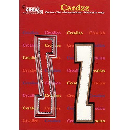 Crealies Cardzz letters letter Z CLCZ426 max. 13 cm (05-20)