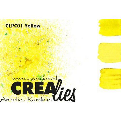 Crealies Pigment Colorzz poeder Geel CLPC01 (05-20)
