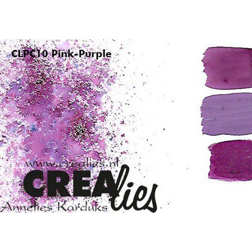 Crealies Pigment Colorzz poeder Paars-Rose CLPC10 (05-20)