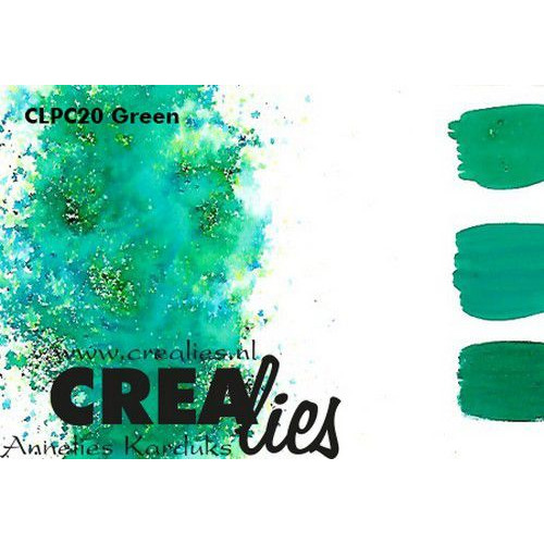 Crealies Pigment Colorzz poeder Groen CLPC20 (05-20)