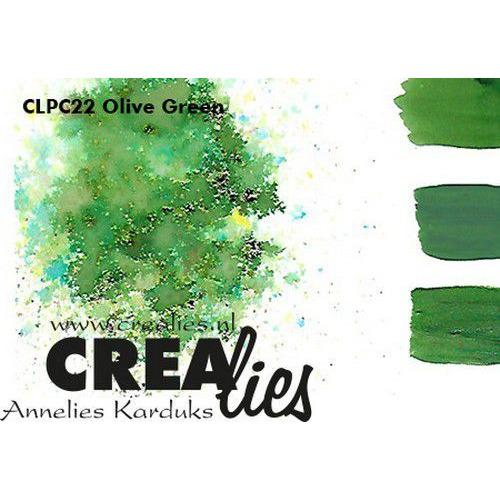 Crealies Pigment Colorzz poeder Olijfgroen CLPC22 (05-20)