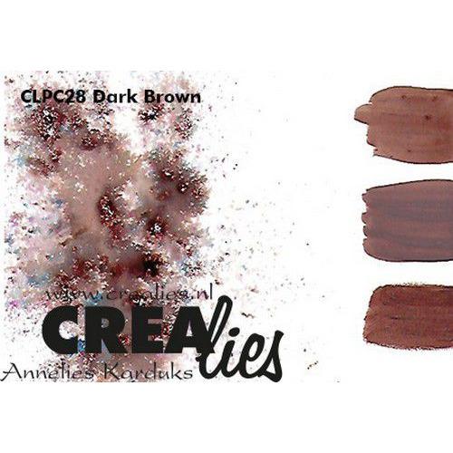 Crealies Pigment Colorzz poeder Donkerbruin CLPC28 (05-20)