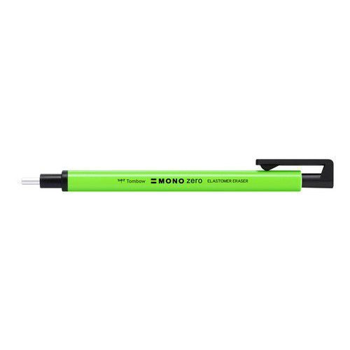 Tombow Precision eraser MONO zero navulb. rond neon green EH-KUR63 2,3mm tip