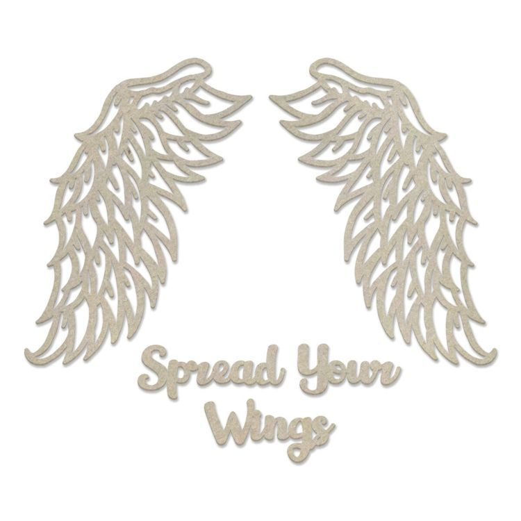 Chipboard - Steampunk Dreams - Spread Your Wings Set (5pc) - 55 x 81mm | 2.1 x 3.1in