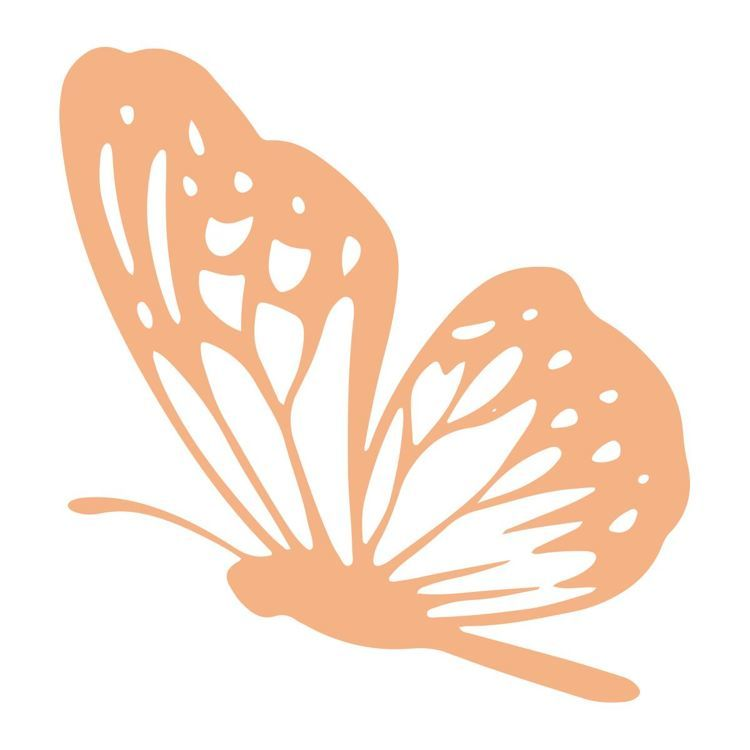 Landing Butterfly Mini Stamp (1pc)